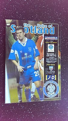 Rochdale V Lincoln City 2002-03