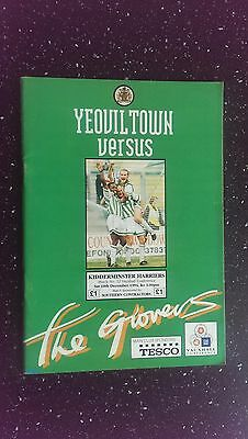 Yeovil Town V Kidderminster 1994-95