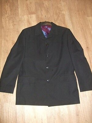 Mens Next Black Suit Jacket Size 40R