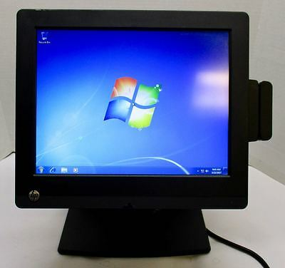 HP RP7 7800 POS 17'' Touch Retail Terminal Pentium 2.90GHz 4GB 128GB SSD Win7