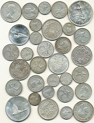 Canada Silver Coin Lot $10 Face Value