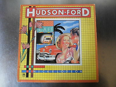 Hudson-Ford - Nickelodeon (Strawbs) - Vinyl LP - 1st Press  A1 / B1 - EX / EX