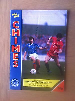 Portsmouth V Swindon Town 1988-89