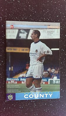 Stockport County V Wrexham 1995-96