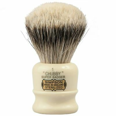Simpsons Super Badger Shaving Brush Chubby 1 **OZ SELLER*QUICK POST**
