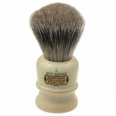 Simpsons Best Badger Shaving Brush Duke 2 **OZ SELLER*QUICK POST**