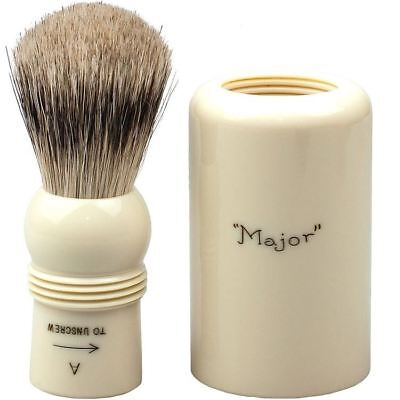 Simpsons Best Badger Shaving Brush Major 1 **OZ SELLER*QUICK POST**