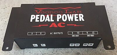 Voodoo Lab Pedal Power AC Power Supply & Bracets for Compact Effects Pedals