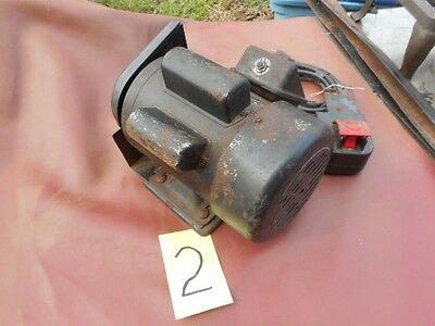Delta Table Saw Motor 1 1/2 Horsepower Single Phase Used