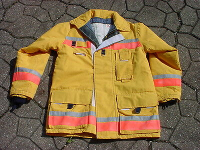 Bristol New Old Stock Turnout Coat Fireman Firefighter Fire Dept 042017-