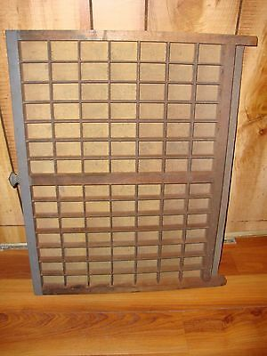 Vintage Smaller Printers Type Drawer/Shadow Box!! L@@K!! Many Uses!