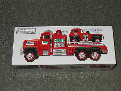 Hess Toy Truck  2015  Fire Truck And Ladder Rescue  Mint In The Box
