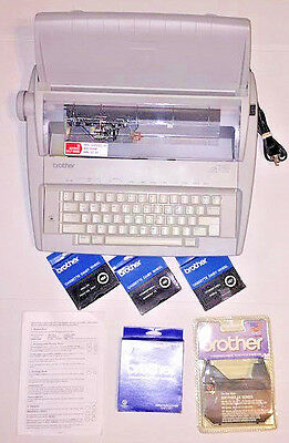 Brother Gx-6750 Correctronic Daisy Wheel Electronic Typewriter
