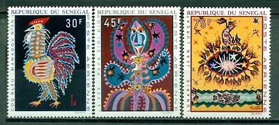 Senegal Scott #C81-C83 MNH Tapestries by Mamadou Niang and Jean Lurçat $$