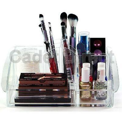 Luxury Clear Acrylic Beauty Organiser with 10 Compartments