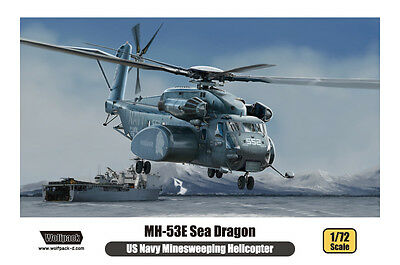 WOLFPACK WP17206 US Navy MH-53E Sea Dragon Minesweeping Helicopter in 1:72