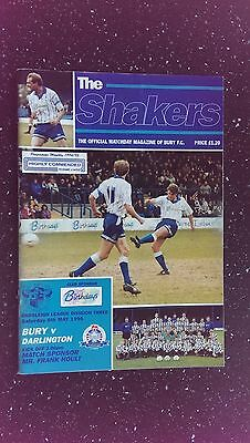Bury V Darlington 1994-95