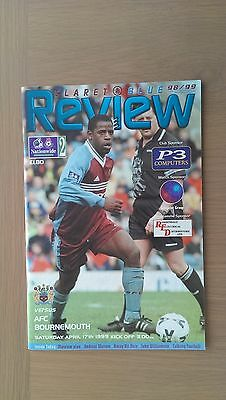 Burnley V Bournemouth 1998-99