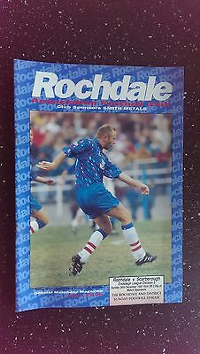 Rochdale V Scarborough 1993-94