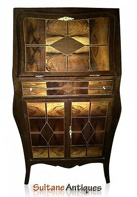 GORGEOUS marquetry Art Deco INSPIRED Bar