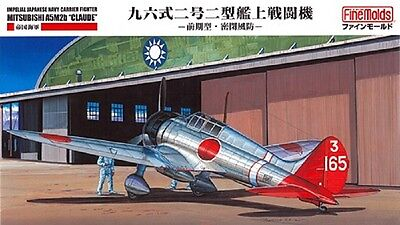 """FINE MOLDS® FB20 IJN Carrier Fighter Mitsubishi A5M2b """"Claude"""" in 1:48"""