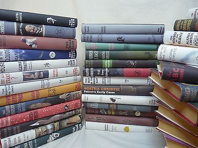 Agatha Christie - Complete 85 Book And Magazine Collection - Hardback - Hachette