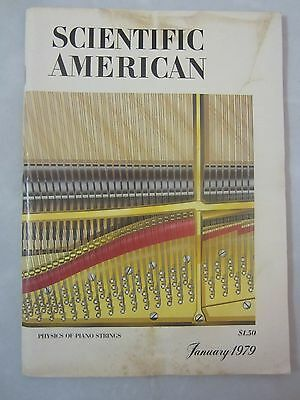 Vintage Scientific American Magazine January 1979 Physics of Piano Strings)