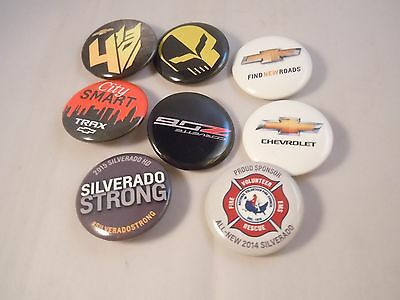 Chevy Chevrolet Pinback Buttons LOT OF 8