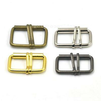 """1.5"""" 2"""" 38 50mm Double 2 Prong Roller Buckles Belt Strap Webbing Cotton Leather"""