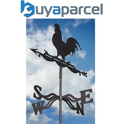 Gardman 17277 Cockerel Chicken Rooster Metal Garden Weather Vane Wind Spinner