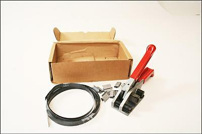 """MIP-380 Strapping Tensioner Tool up to 3/4"""" poly banding crimping industrial"""