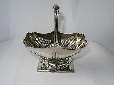 Vintage Silver Plated Sugar Bowl/Bon Bon Dish by Walker & Hall