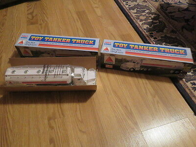 B) vintage    2  CITCO TOY TANKER TRUCK 1997  HORN AND LIGHTS NEW IN BOX