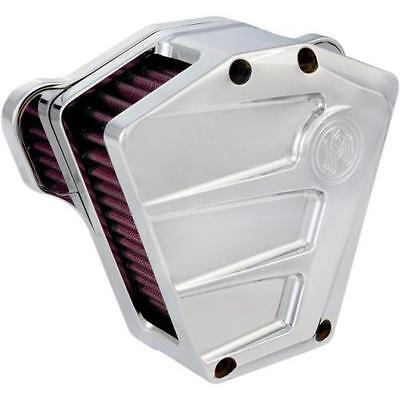 Performance Machine Scallop Air Cleaner Chrome #0206-2085-CH Harley Davidson