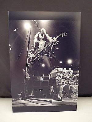 Kiss 1976 Sweden Live On Stage Gene Simmons 8x12 Photo From Original Negative