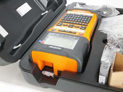 Brother PT-E500 Industrial Handheld Labeling Tool w/ Auto-Cutter amp Co #5753A