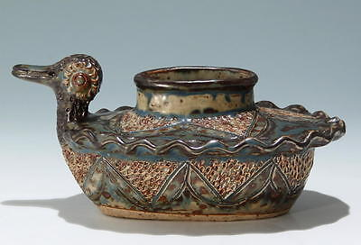 The Rorke's Drift Pottery Duck Bowl signed Elizabeth Mbatha       #17514