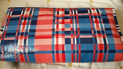 ValerieParr Hill Insulated Shopping Bag Rolling Wheeled Cart Basket Tote New