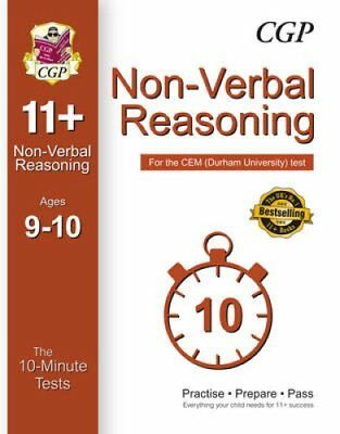 10-Minute Tests for 11+ Non-Verbal Reasoning (Ages 9-10) - CEM ... 9781782946281