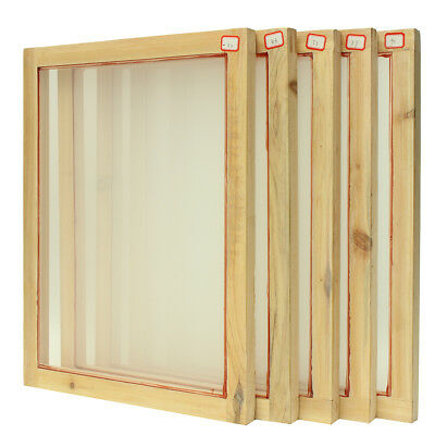 A3 Screen Printing Wooden Frames Choose Mesh Count 32T 43T 55T 77T 90T Silk