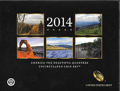 2014 AMERICA THE BEAUTIFUL10 Quarters Set, 2 LINCOLN SETS 2009   Lot S-18