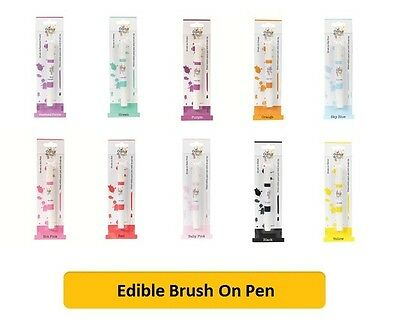 Culpitt BRUSH ON PEN (Colour Splash) Edible Food, Cake Decorations, Art, Paint