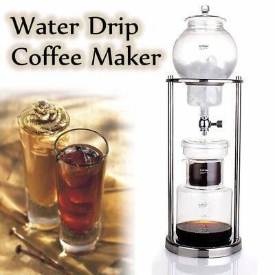 AU 600ML Dutch Coffee Cold Brew/ Drip Coffee Maker Ice Water Dripper For 8 Cups
