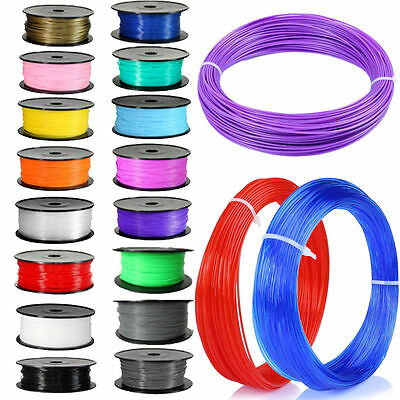 NEW DIY 5M 3D Printer Filament 1.75mm 3mm ABS / PLA  RepRap Sales Pen MakerBot