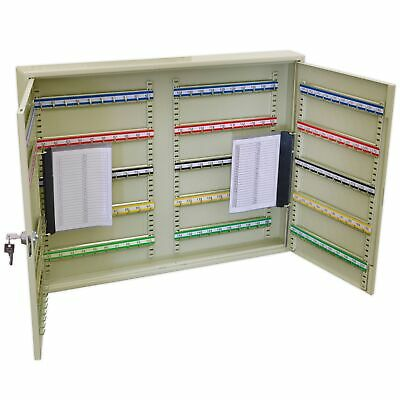 Sealey Garage/Car Dealer Key Cabinet/Storage 200 Key Capacity Wide - SKC200W