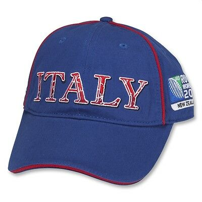 Official Italy Rugby World Cup 2011 Cap rrp £12