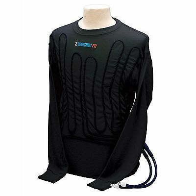Cool Shirt Long Sleeve Flame-Retardant Cooling Shirt In Black - Race / Rally