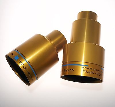 2 x ISCO CINEMASCOPE ULTRA-STAR 55mm and 42mm Projection Lens
