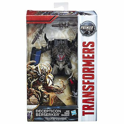 Transformers 5 The Last Knight - Deluxe Class Decepticon Berserker  -Brand New