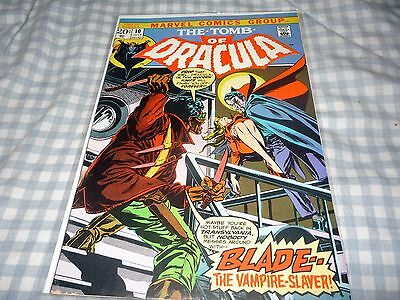 Tomb Of Dracula #10 Vg/fn 5.0 First Blade Appearance